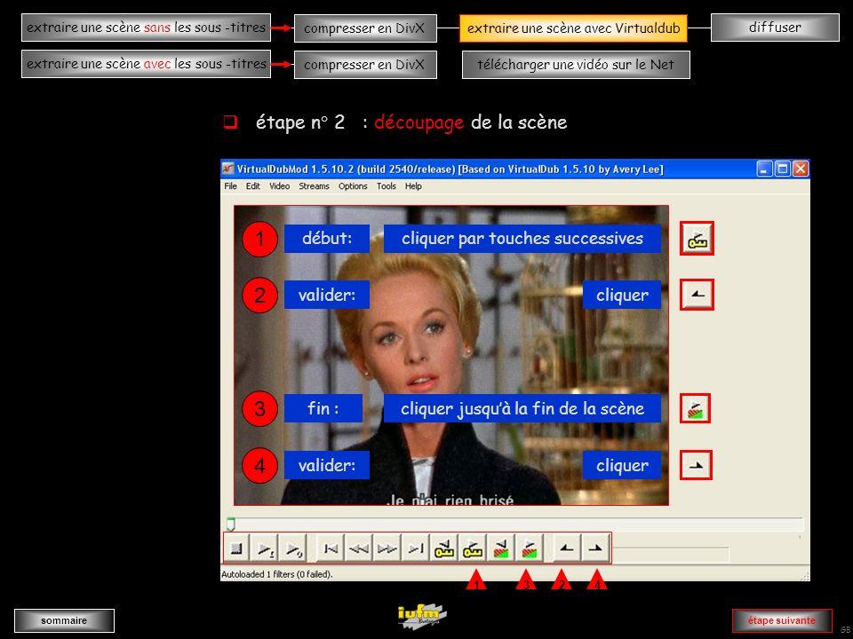institutionnelles Didier ATTICA diffuserextraire une scène sans les sous -titres sommaire extraire une scène avec les sous -titres compresser en DivXextraire une scène avec Virtualdub compresser en DivXtélécharger une vidéo sur le Net GB AAAAAAAAAAAAAAvvvvvvvvvvvvvA 1 cliquer sur « File » cliquer sur «open video file » cliquer sur «Birds » extraire une scène avec Virtualdub étape suivante étape n° 1 : importer le fichier film
