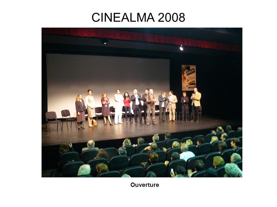 CINEALMA 2008 Rabah Ameur Zaieche et Soraya Nini Ouverture