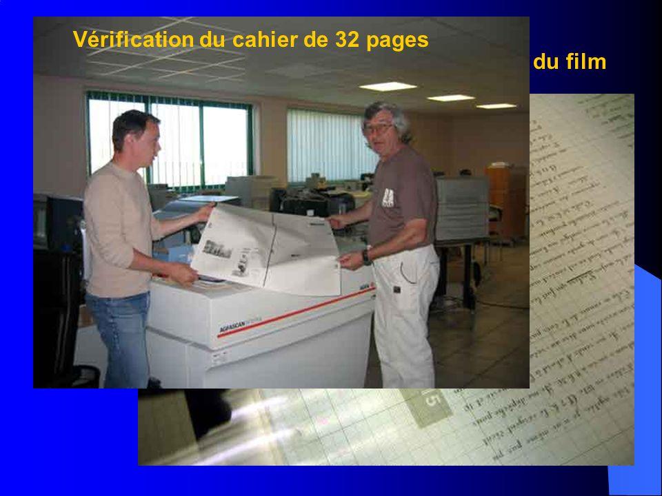 Impression des cahiers de 32 pages
