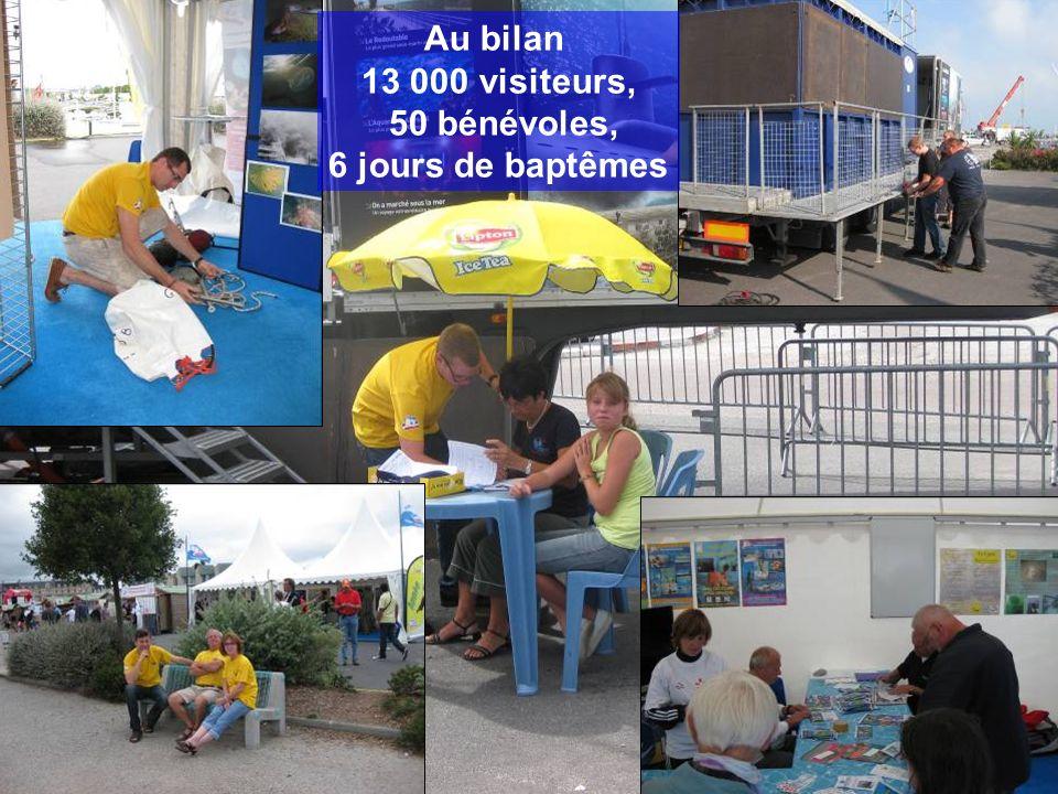 Au bilan 13 000 visiteurs, 50 bénévoles, 6 jours de baptêmes