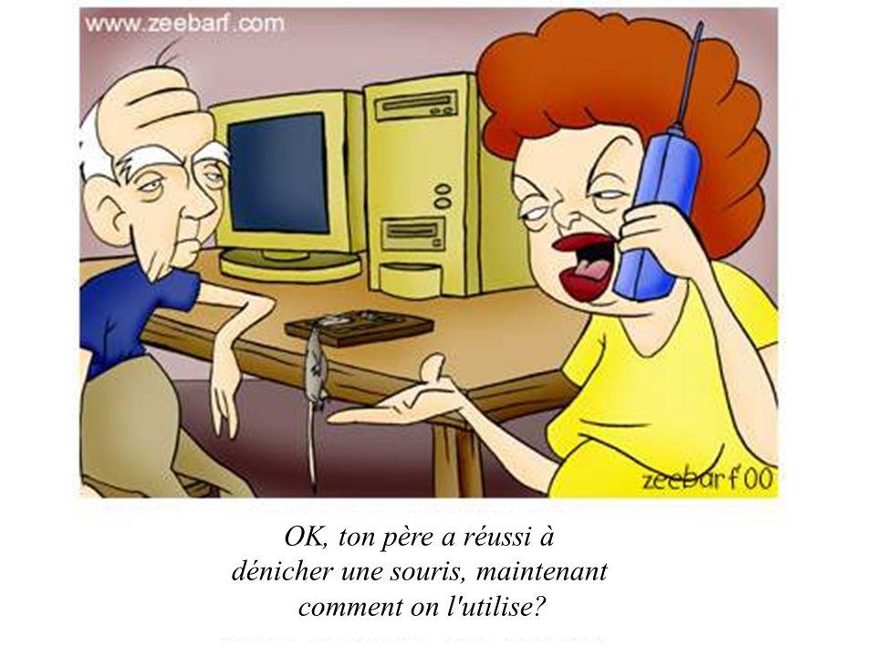 L ordinateur d une femme…