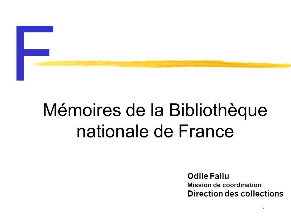 25 janvier 2002 Bibliothèque nationale de France 32
