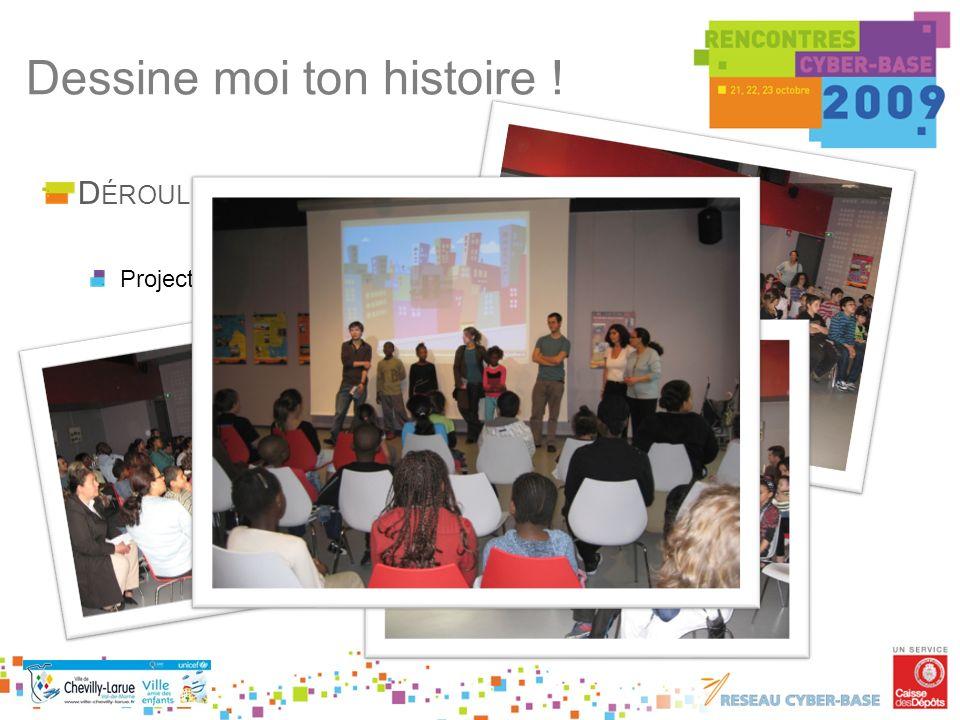 D ÉROULÉ Projection du film Dessine moi ton histoire !