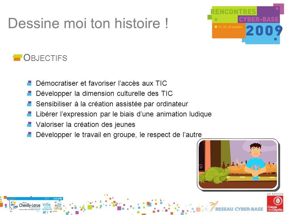 O BJECTIFS Démocratiser et favoriser laccès aux TIC Développer la dimension culturelle des TIC Sensibiliser à la création assistée par ordinateur Libé
