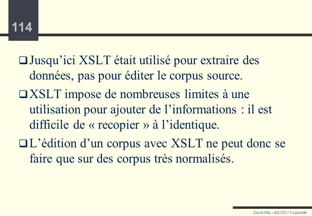 Ajout dinformation, Editer le corpus source