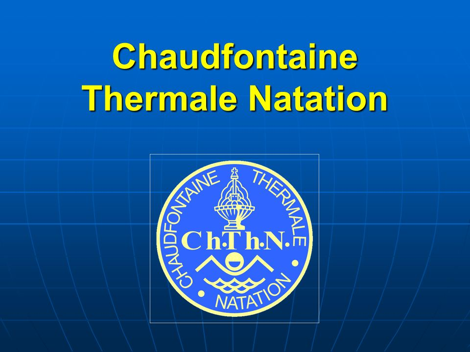 Chaudfontaine Thermale Natation