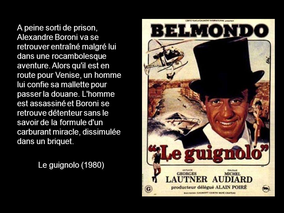 Le commissaire Borowitz, super flic de la police parisienne, introduit le milieu niçois pour le démanteler. Flic ou voyou (1979)