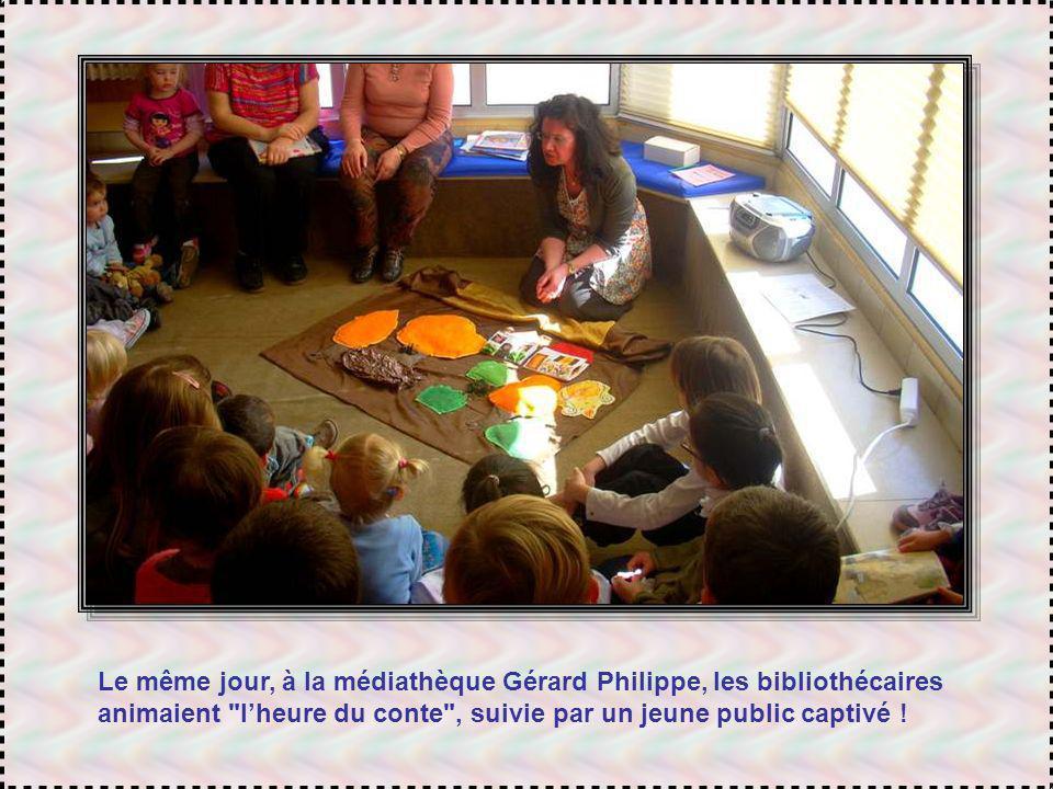 Mercredi : Oh la la ! Que lheure tourne vite ! Il faut repartir à la bibliothèque SNCF pour animer un nouvel atelier décriture. Un atelier plein de fr