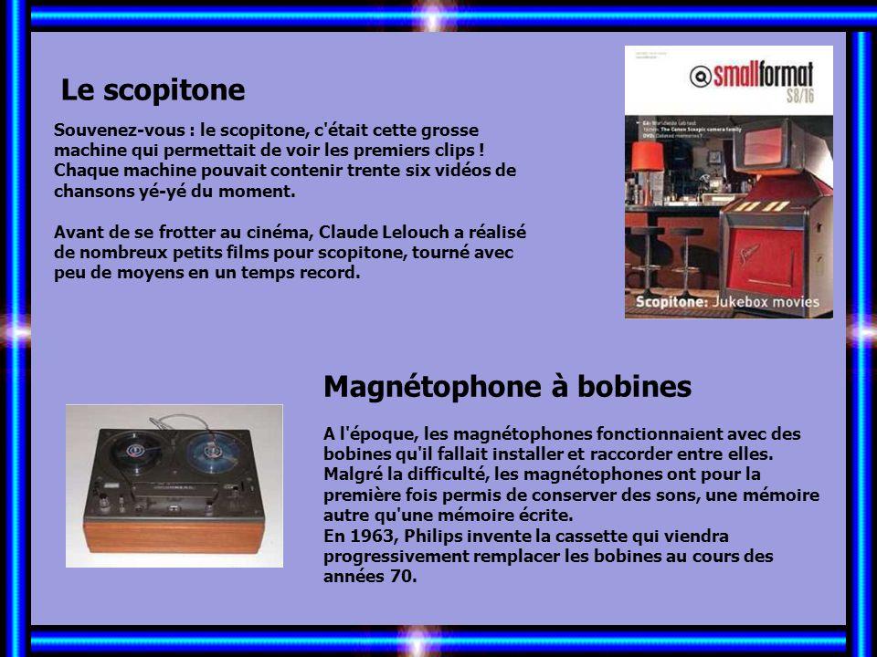 Allez les Filles… Le juke-box Le juke-box est un élément incontournable pour les bars et cafés branchés des années 50 et 60. Dans les années 70, il co