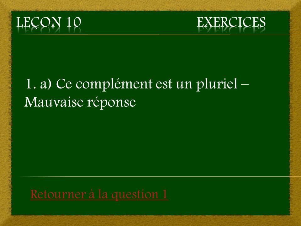 9.Complétez la phrase suivante : « Les négociations ont _______.