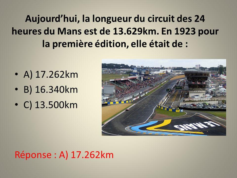 Le célèbre joueur de tennis est né au Mans en 1985. Qui est-il? A) Richard Gasquet B) Jo-Wilfried Tsonga C) Gaël Monfils Réponse : B) Jo-Wilfried Tson