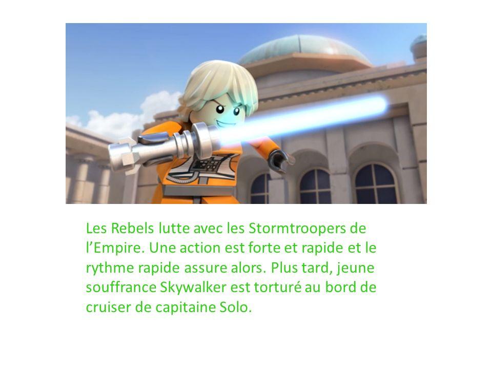 Les Rebels lutte avec les Stormtroopers de lEmpire.