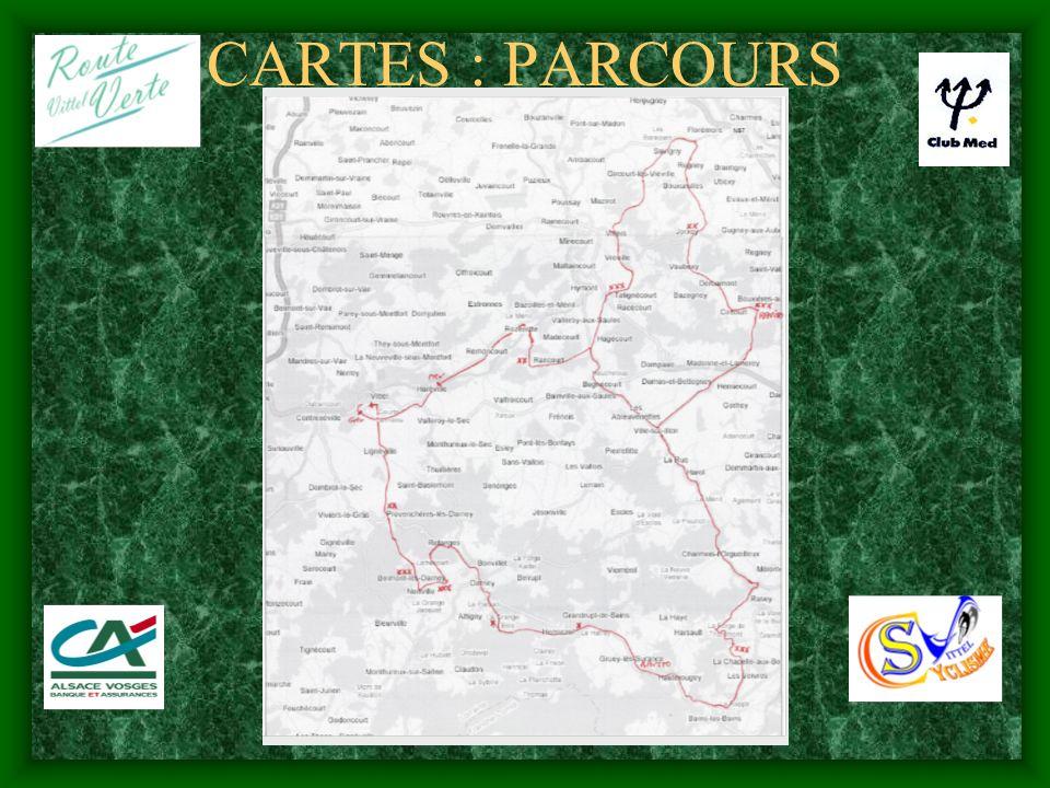 CARTES : PARCOURS