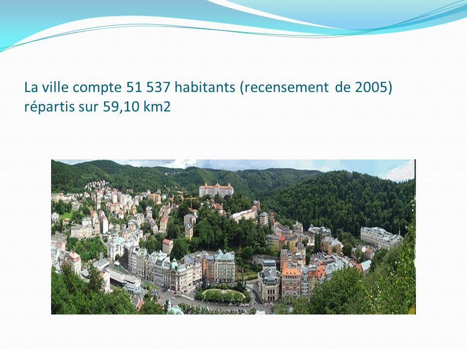 La ville compte 51 537 habitants (recensement de 2005) répartis sur 59,10 km2