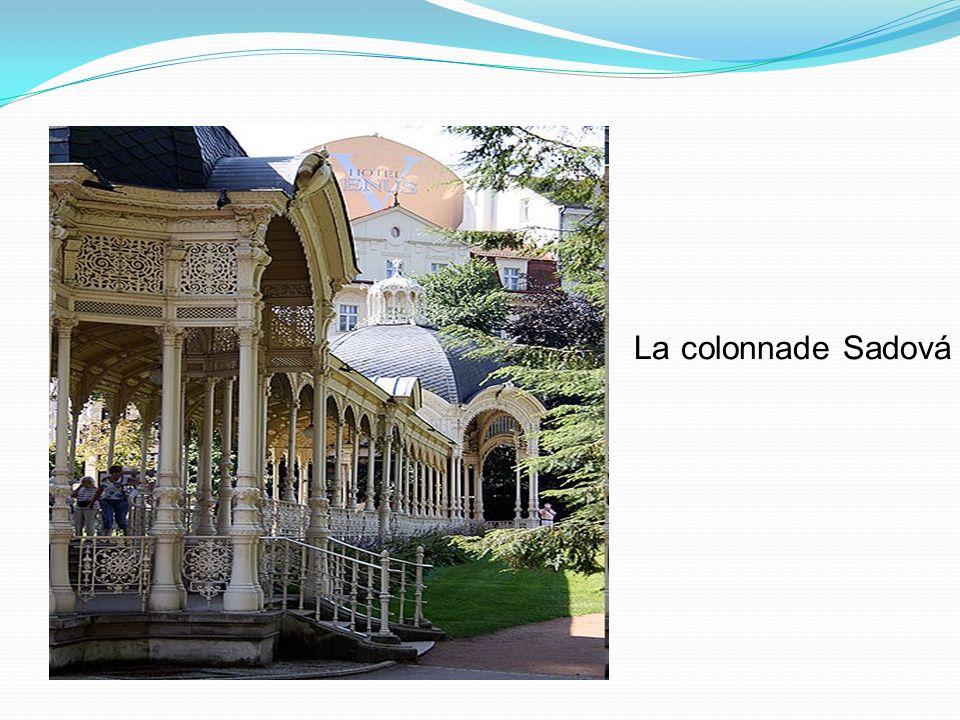 La colonnade Sadová