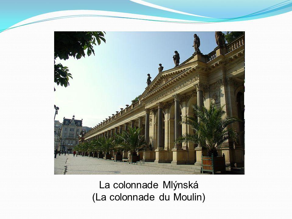 La colonnade Mlýnská (La colonnade du Moulin)