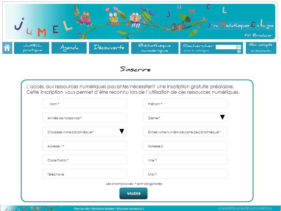 Un problème sur le site.Contactez-nous.