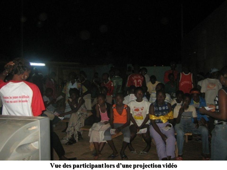 Vue des participant lors dune projection vidéo