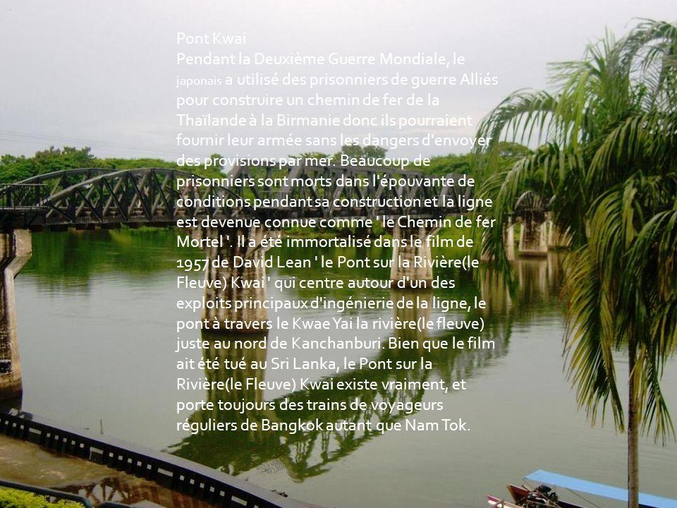 Klong est le nom général pour un canal dans la plaine centrale de la Thaïlande. Ces canaux sont engendrés par le Chao Phraya, le Menton Tha, Mae Klong