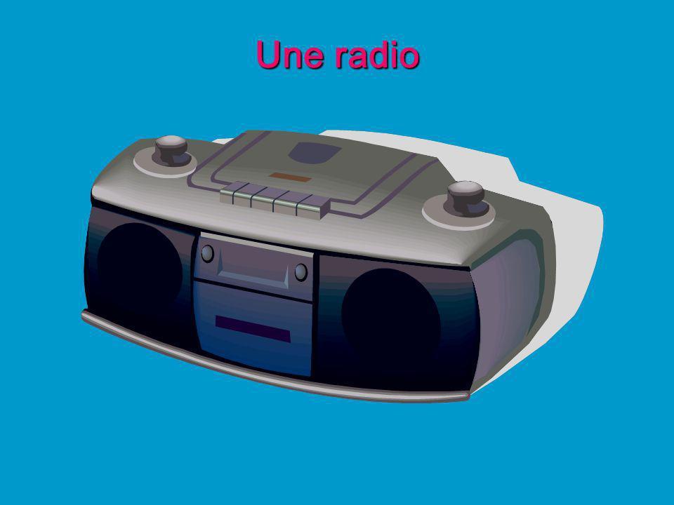 Une radio