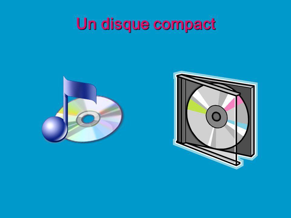 Un disque compact