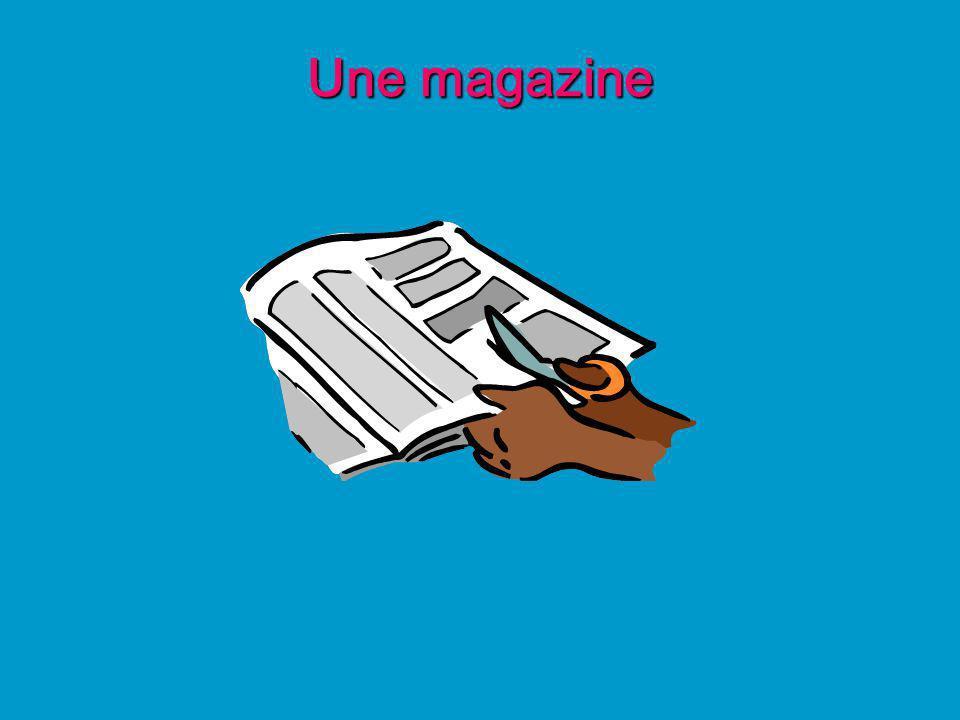 Une magazine