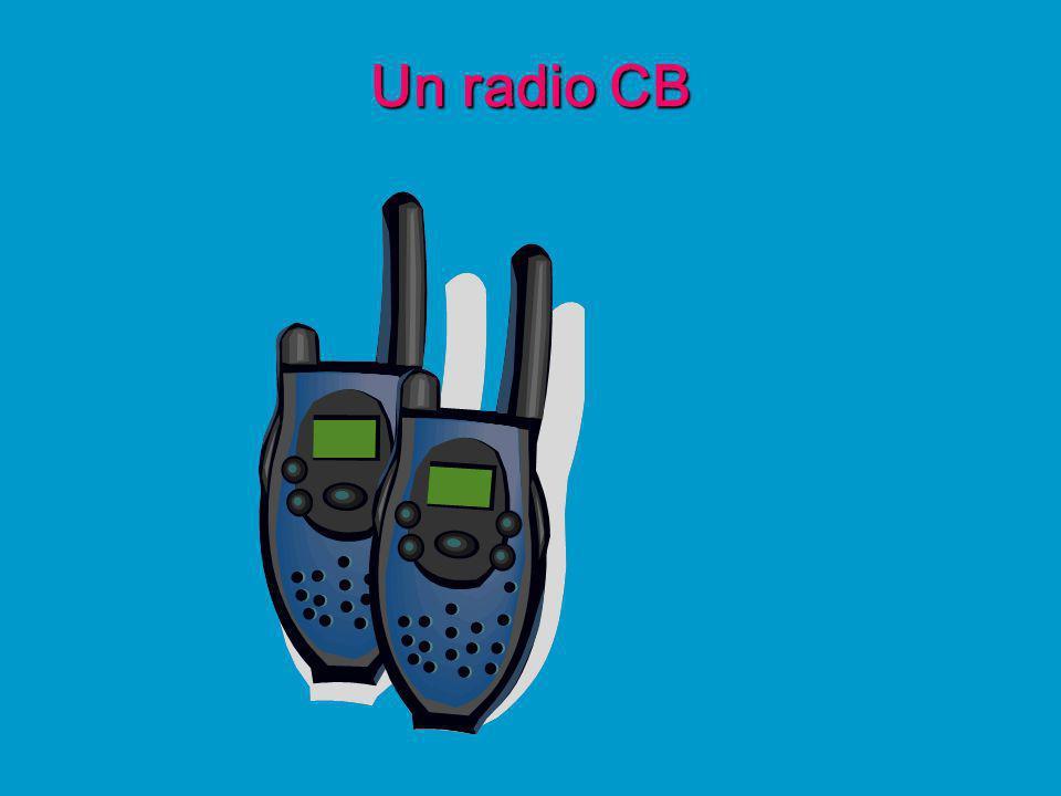 Un radio CB