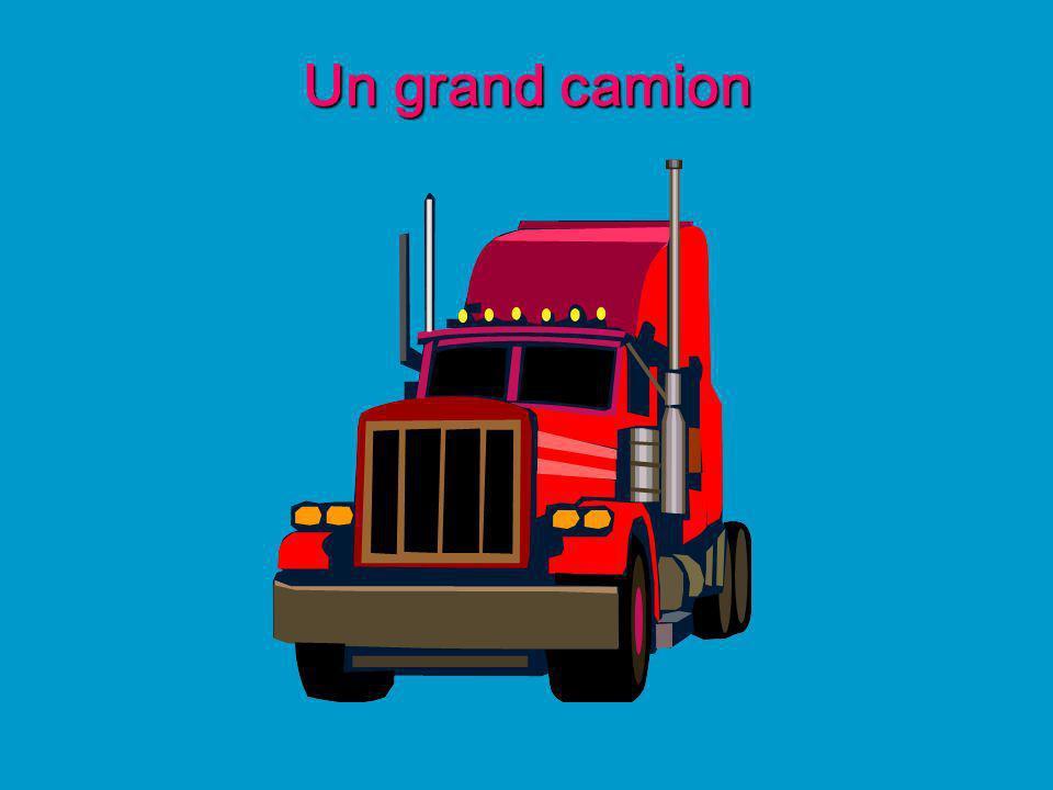Un grand camion