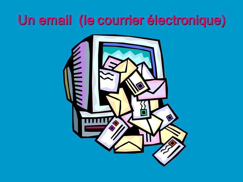 Un email (le courrier électronique)