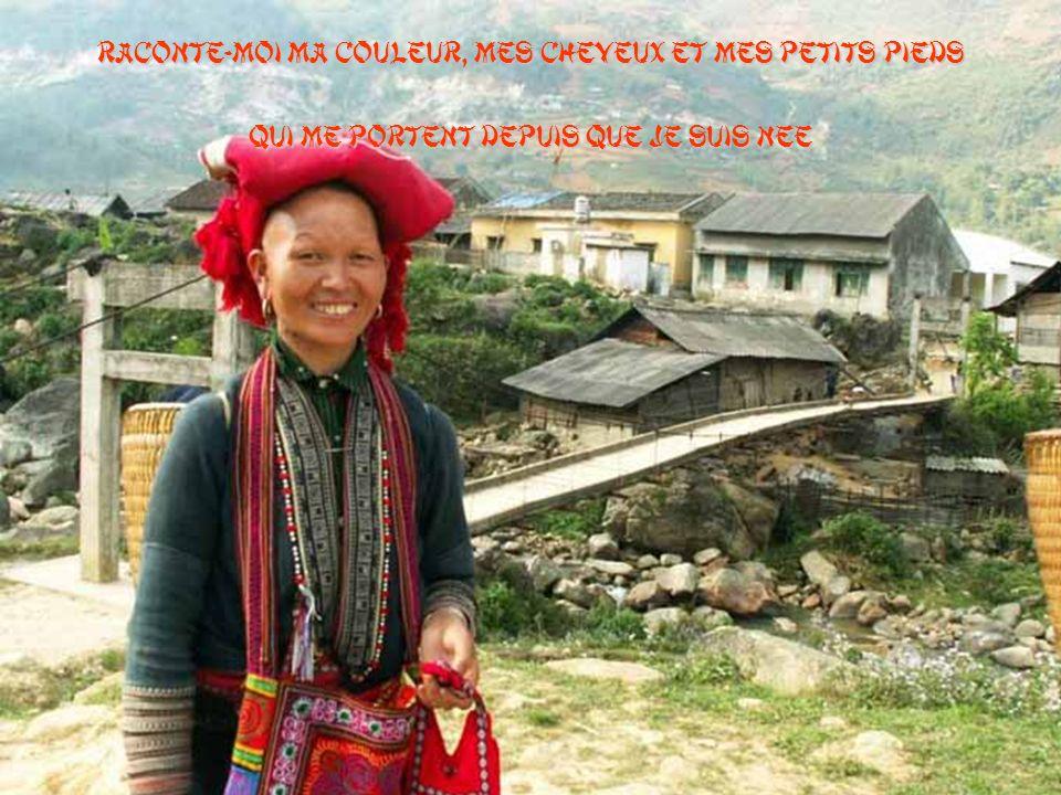 Un jour, j'irai là-bas Un jour, dire bonjour à ton â me Un jour, j'irai là-bas Te dire bonjour, Vietnam