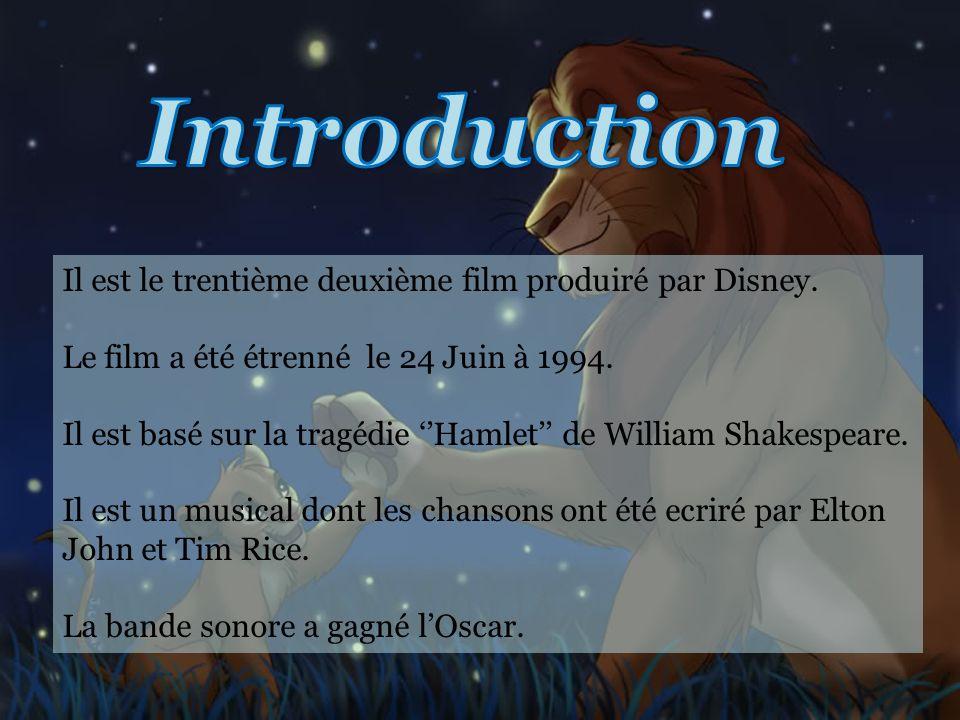 Il est le trentième deuxième film produiré par Disney.