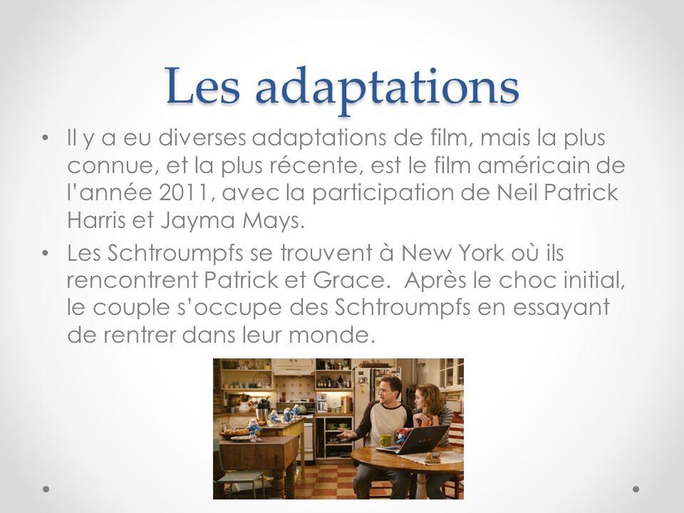 Les adaptations Il y a eu diverses adaptations de film, mais la plus connue, et la plus récente, est le film américain de lannée 2011, avec la partici