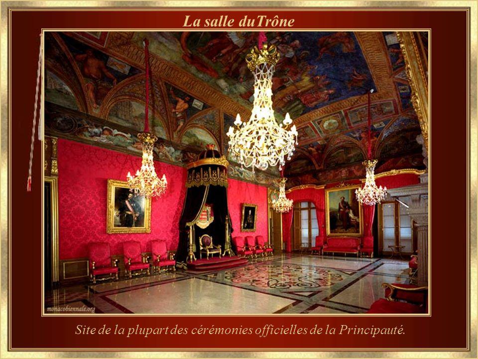 Le Palais Grimaldi La résidence officielle du Prince de la Principauté