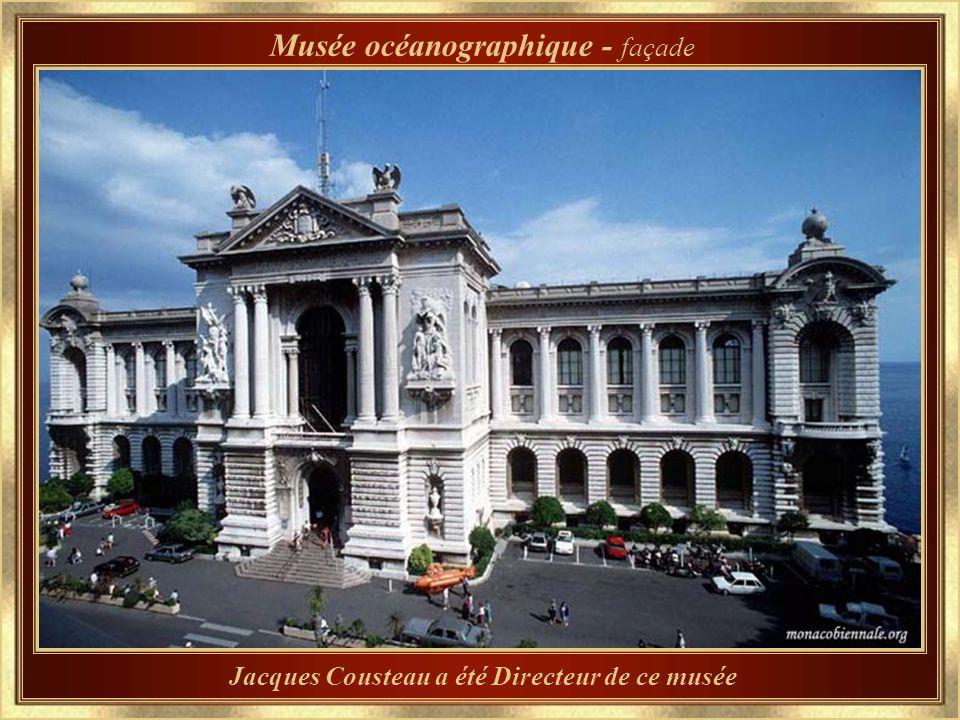 Inauguré en 1910 par son fondateur, le Prince Albert I Musée Océanographique