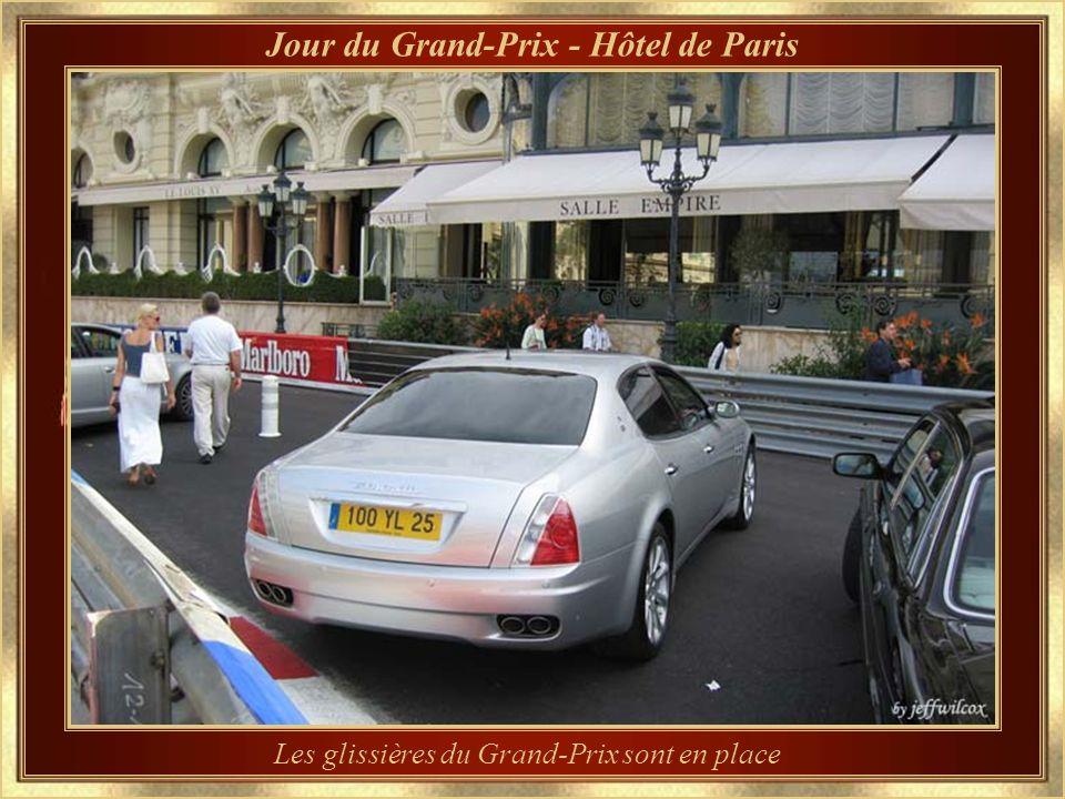 …vu de la sortie supérieure de la Gare Le circuit du Grand-Prix