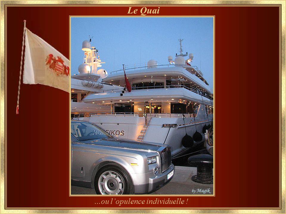 ... le luxe collectif... La Marina