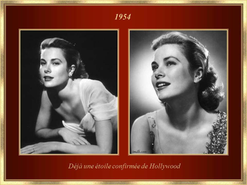 Déjà une étoile confirmée de Hollywood 1954