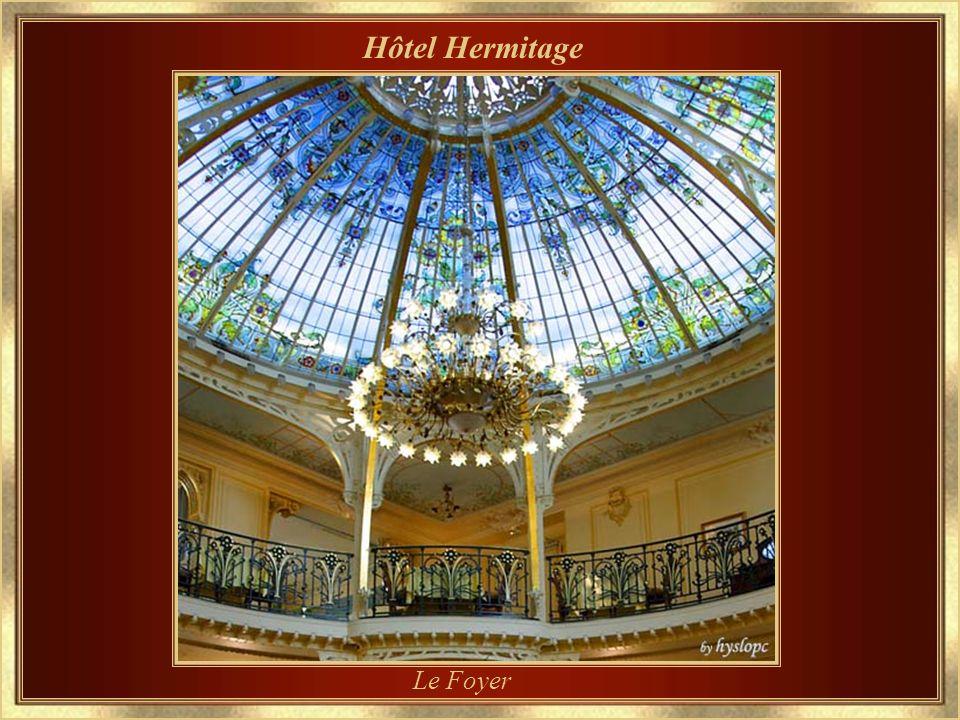 Hôtel Hermitage Lentrée principale