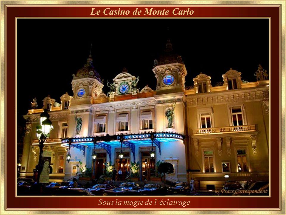 Le Casino de Monte Carlo – détail darchitecture Conçu par Charles Garnier, architecte, qui a aussi dessiné lOpéra de Paris