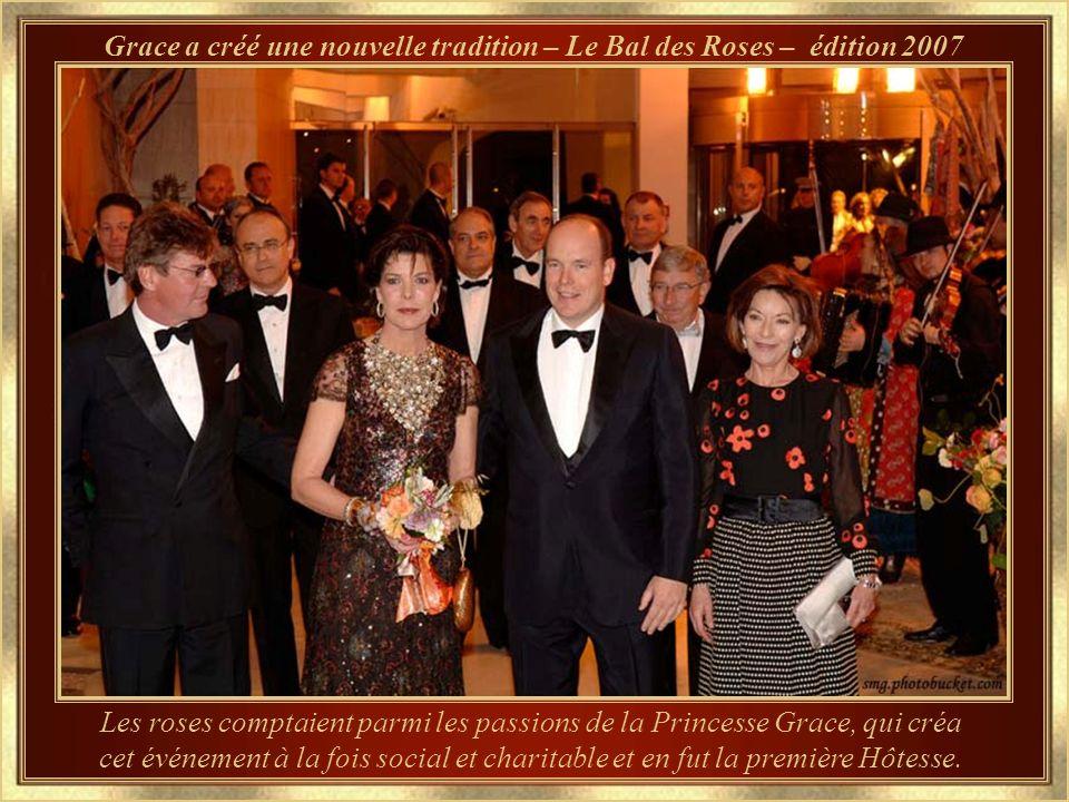 Les Enfants maintenant... Le fils, Albert II, présent Souverain Prince de la Principauté, et les Princesses
