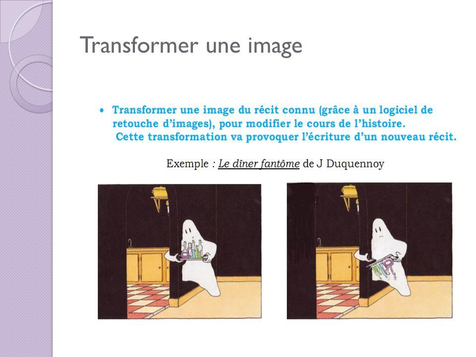 Transformer une image