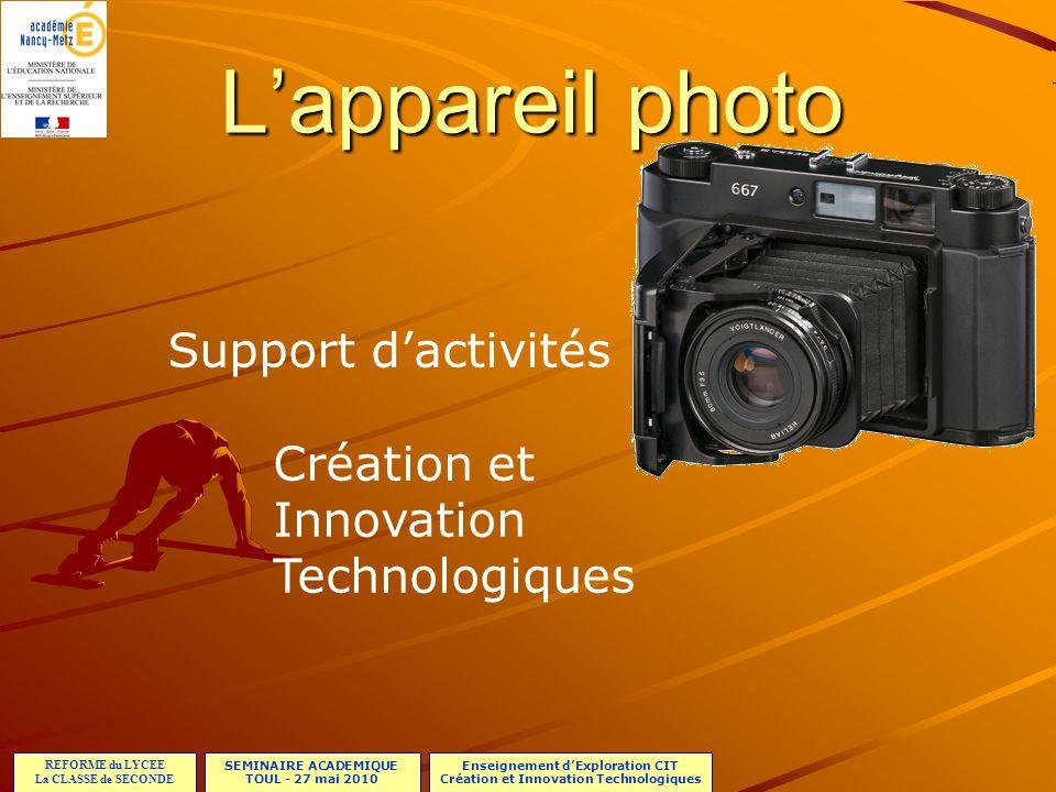 SEMINAIRE ACADEMIQUE TOUL - 27 mai 2010 REFORME du LYCEE La CLASSE de SECONDE Enseignement dExploration CIT Création et Innovation Technologiques Lapp