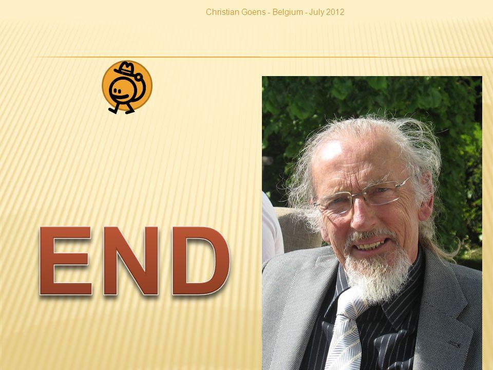 Christian Goens - Belgium - July 2012 30
