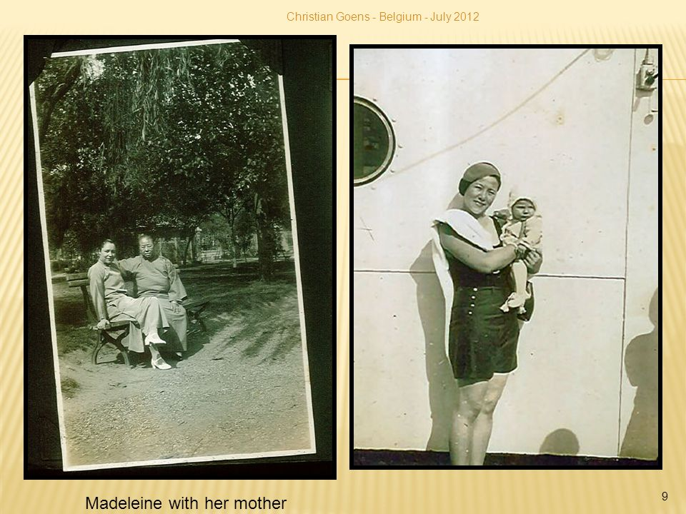 9 Madeleine with her mother