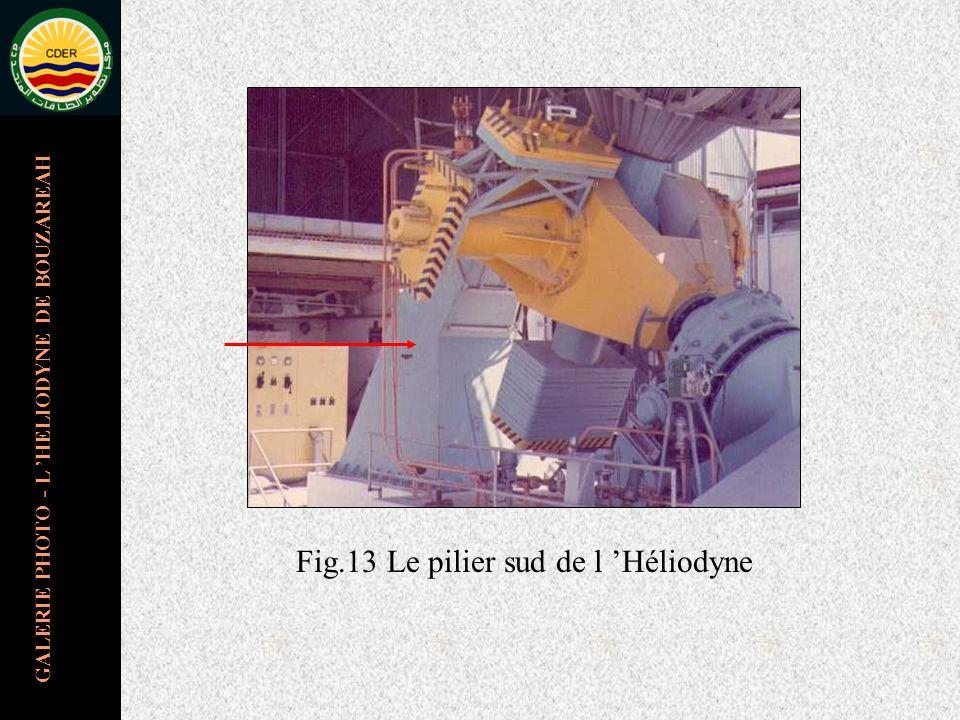 GALERIE PHOTO - L HELIODYNE DE BOUZAREAH Fig.13 Le pilier sud de l Héliodyne