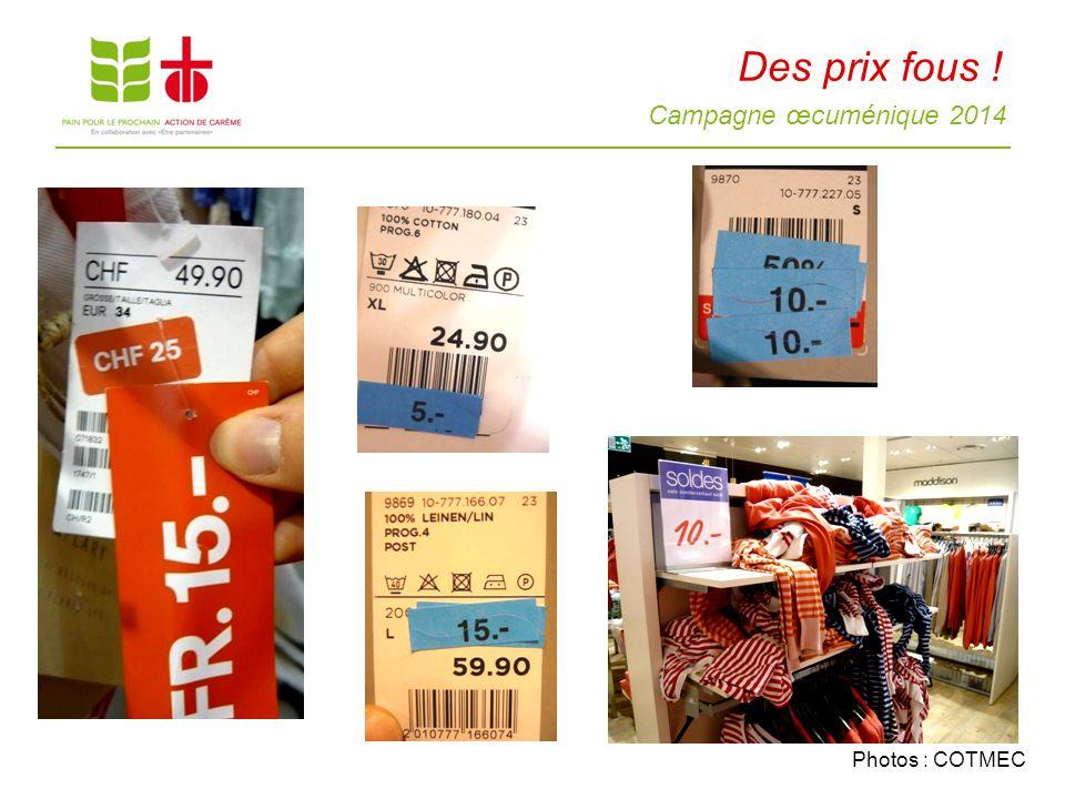Campagne œcuménique 2014 Les ouvrières du textile 15 http://www.flickr.com/photos/40831205@N02/8731789941 www.fairwear.org