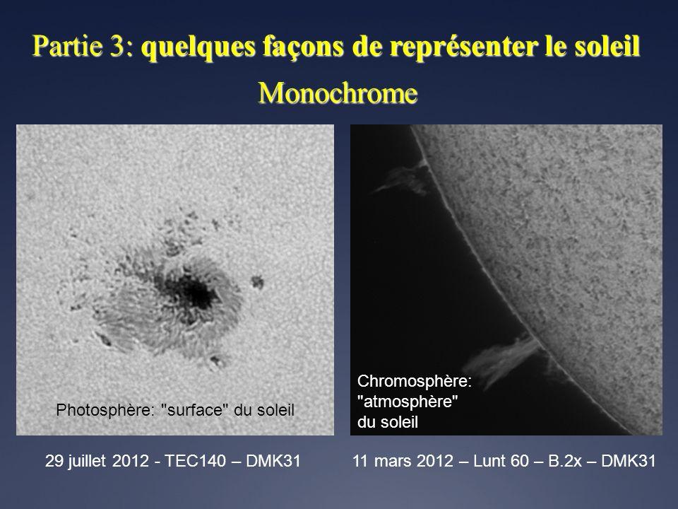 Monochrome 29 juillet 2012 - TEC140 – DMK3111 mars 2012 – Lunt 60 – B.2x – DMK31 Photosphère: