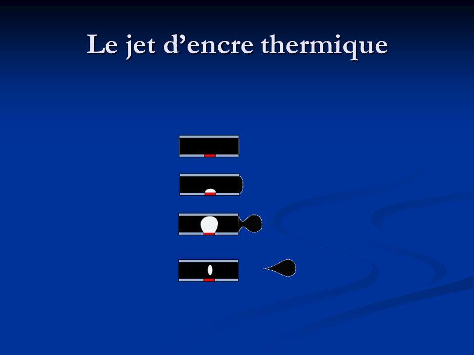 Le jet dencre thermique