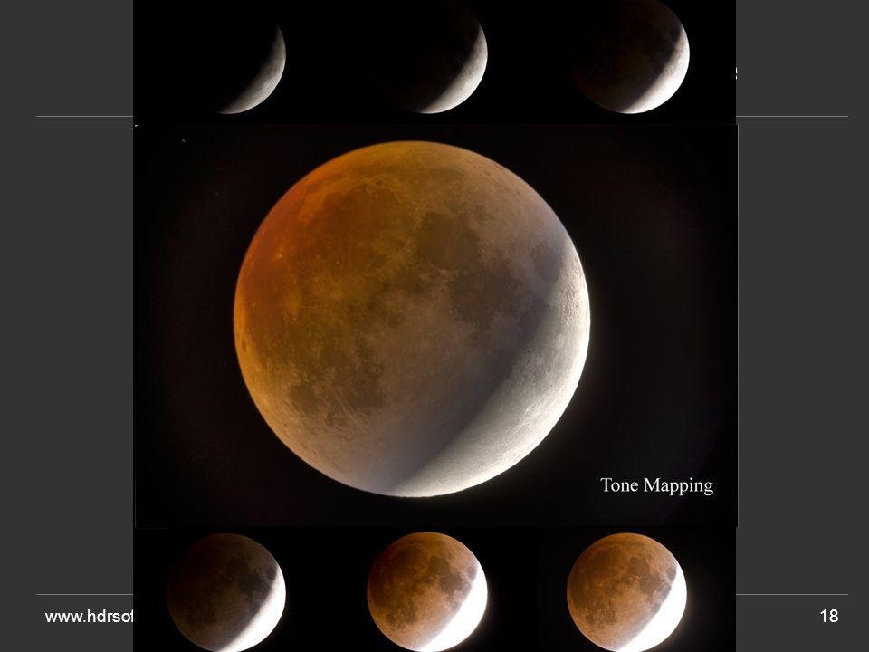 www.hdrsoft.com18 Avant léclipse de lune