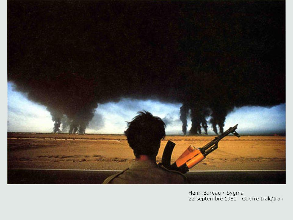 Henri Bureau / Sygma 22 septembre 1980 Guerre Irak/Iran